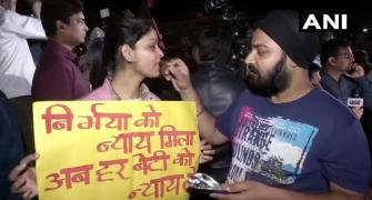 'Long live Nirbhaya' chants ring outside Tihar Jail