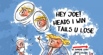Dom's Take: Prez Trump: Heads I Win, Tails U Lose