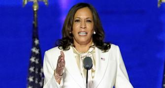 Kamala vows she 'will not be last' woman in office