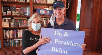 He'll be a president for all families: Jill Biden