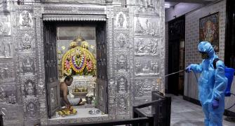Doors of religious places reopen for devotees in Maha
