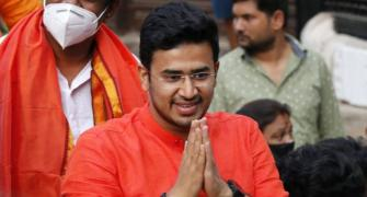 Owaisi is Jinnah's new avatar, says Tejasvi Surya