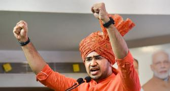 Tejasvi Surya booked for trespass on Osmania campus