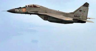 MiG-29K trainer jet crashes into sea, 1 pilot missing