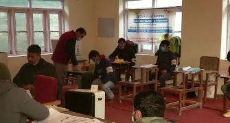 Voting begins in first phase of J-K civic polls
