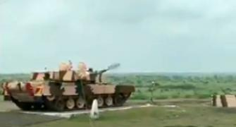 India test fires anti-tank missile from Arjun tank