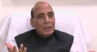 MSP will be hiked continuously: 'Farmer's son' Rajnath