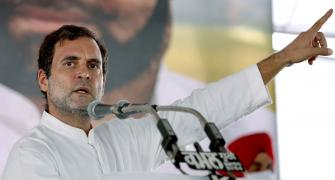 Country needs breath, not PM's residence: Rahul