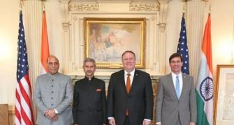 2+2 dialogue: Pompeo, Esper to arrive in India on Mon