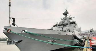 INS Kavaratti commissioned into Indian Navy