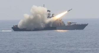 SEE: Navy fires anti-ship missile, sinks target