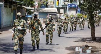 K'taka bypolls: Paramilitary forces reach Bengaluru