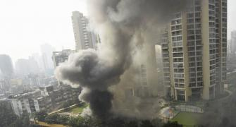 36 hours on, fire continues at Mumbai mall