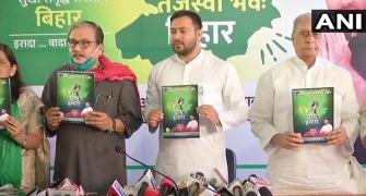 With RJD manifesto, Tejashwi vows to create new Bihar