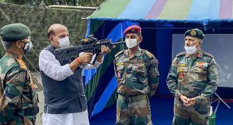 India wants end to border tension with China: Rajnath