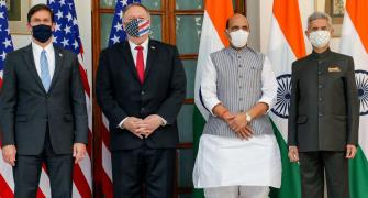 Pak has 'taken note' of BECA pact between US and India