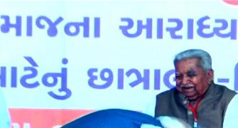 Keshubhai Patel, who overcame Covid-19, passes away
