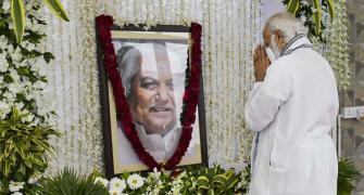 PM on 2-day Gujarat visit, pays tribute to Keshubhai