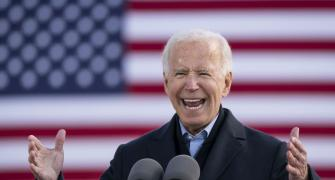 Will the election gods smile on Joe Biden?