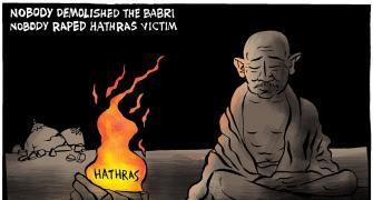 No one demolished Babri. No one raped Hathras victim