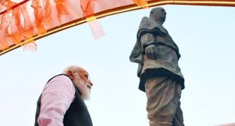 PM pays tributes to Sardar Patel at Statue of Unity