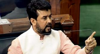 LS adjourns 4 times over Anurag Thakur's comments