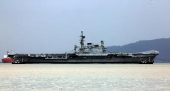 Viraat sets sail for the last time, to be dismantled