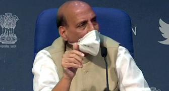 Opposition members' conduct in RS shameful: Rajnath