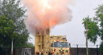 BrahMos test-fired at nearly 3 times speed of sound