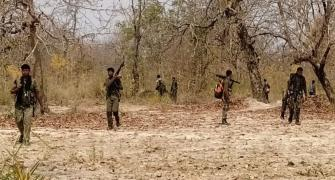 Have Naxals abducted CoBra commando?