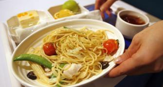 No meals on domestic flights below 2-hour duration