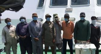 Boat with 8 Pakistanis, 30kg heroin caught off Gujarat