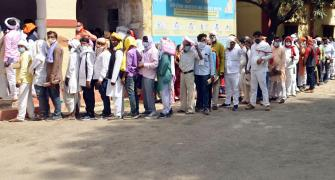 UP panchayat polls: Thousands vote amid COVID surge