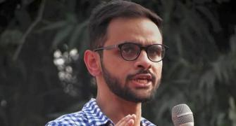 Umar Khalid calls Delhi riots case 'cooked up'