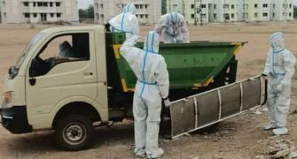 Garbage van ferries dead bodies to crematorium