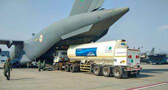 SEE: IAF airlifts oxygen tankers for COVID-19 relief