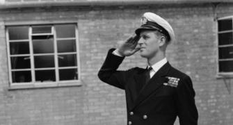 A life in pictures - Britain's Prince Philip
