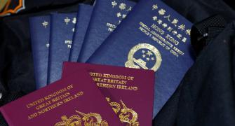 Britain, China clash over new UK visa for Hong Kongers