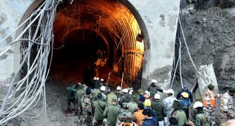Multi-agency rescue op inside Tapovan tunnel underway