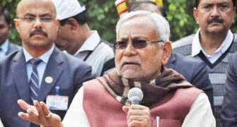 Nitish once again disagrees with BJP