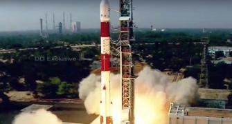 Isro's PSLV-C51 lifts off with 19 satellites