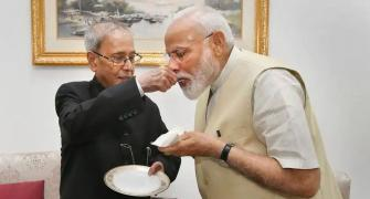 What Pranab thought about Modi