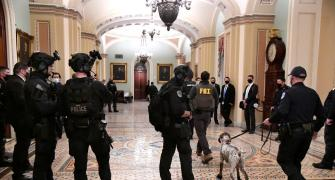 PHOTOS: Inside US Capitol as riots raged outside