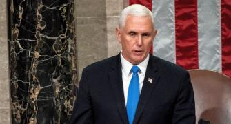 Violence never wins, says US Vice President Pence