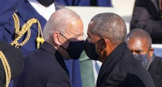 PHOTOS: Top moments from Biden's inauguration