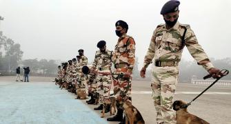 ITBP's canine team to secure Rajpath, India Gate