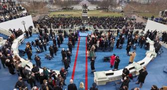 An Inauguration Day like no other in US