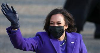 'We will rise up': US VP Kamala Harris