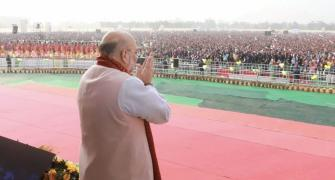 Cong will open gates to infiltrators: Shah in Assam