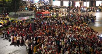 Thousands of farmers reach Mumbai for mega rally